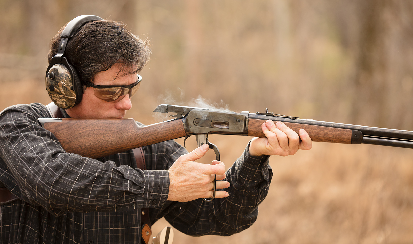 The Iconic Winchester 1886 Rifle