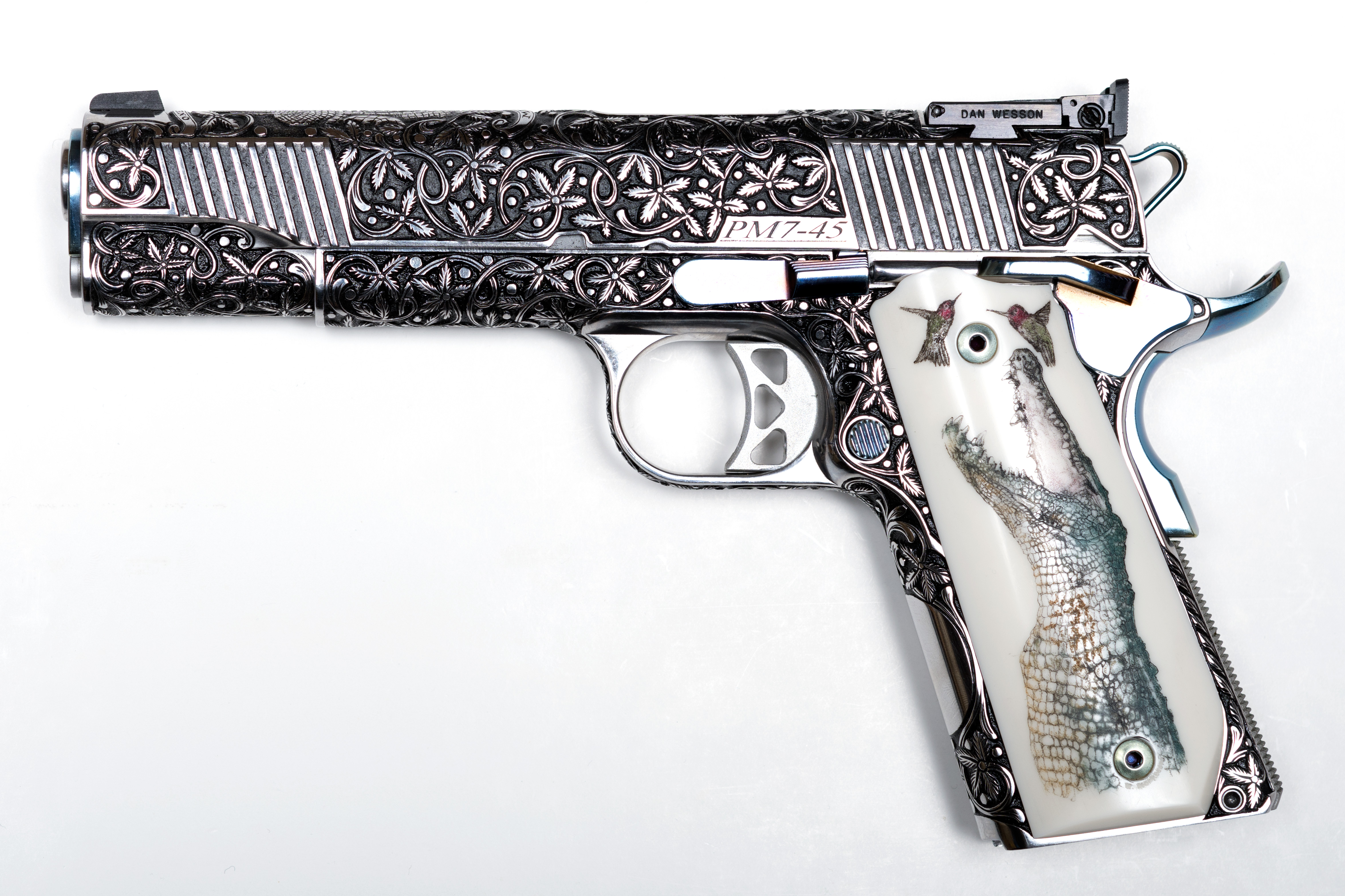 Dan Wesson Pointman Engraved 1911 45 ACP
