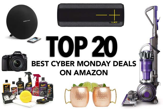 Top 20 Best Cyber Monday Deals on Amazon