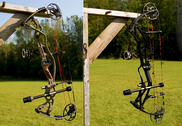 Compound  Bow Comparison: Hoyt Carbon Defiant vs. Bear LS-6 + Video