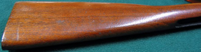 Butt stock, before. (Photo © Russ Chastain)