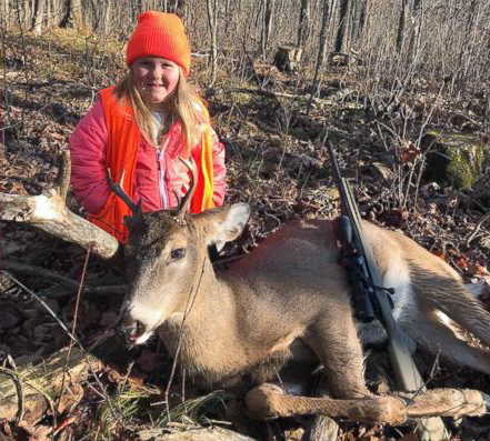 6-Year-Old Girl Slays Wisconsin Buck Under New Law
