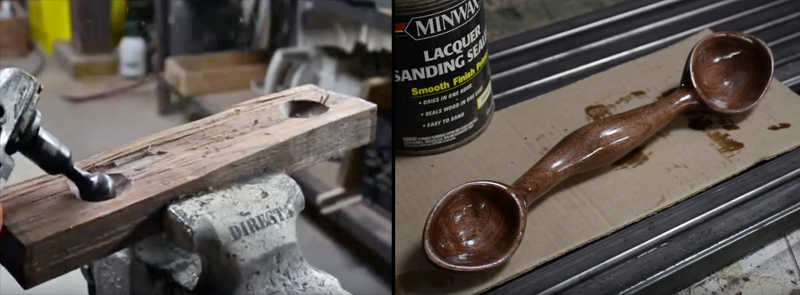 Watch: Making a Double-End Wood Spoon