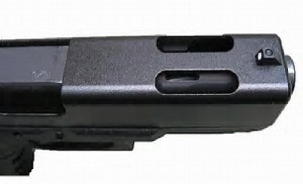 The Glock G-19-C Compensated