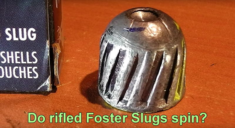 Do Rifled Slugs Actually Spin?