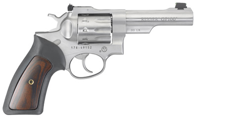 Ruger GP100 in 22 long rifle