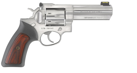 Ruger GP 100 with 7 round capacity