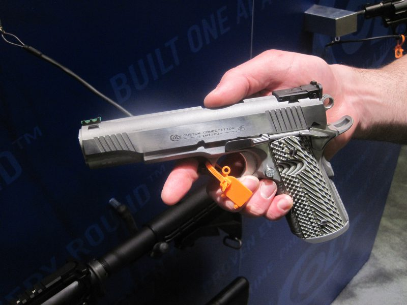 Colt Custom Shop Competition Pistol at the 2018 SHOT Show