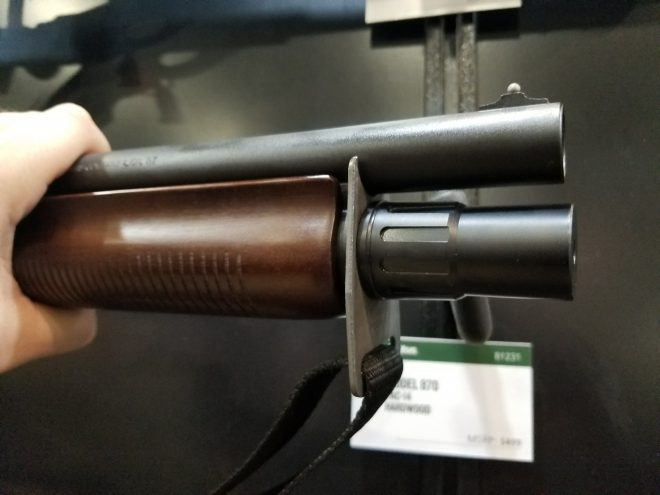 Tac-14 Hardwood and Marine Magnum Shotguns From Remington