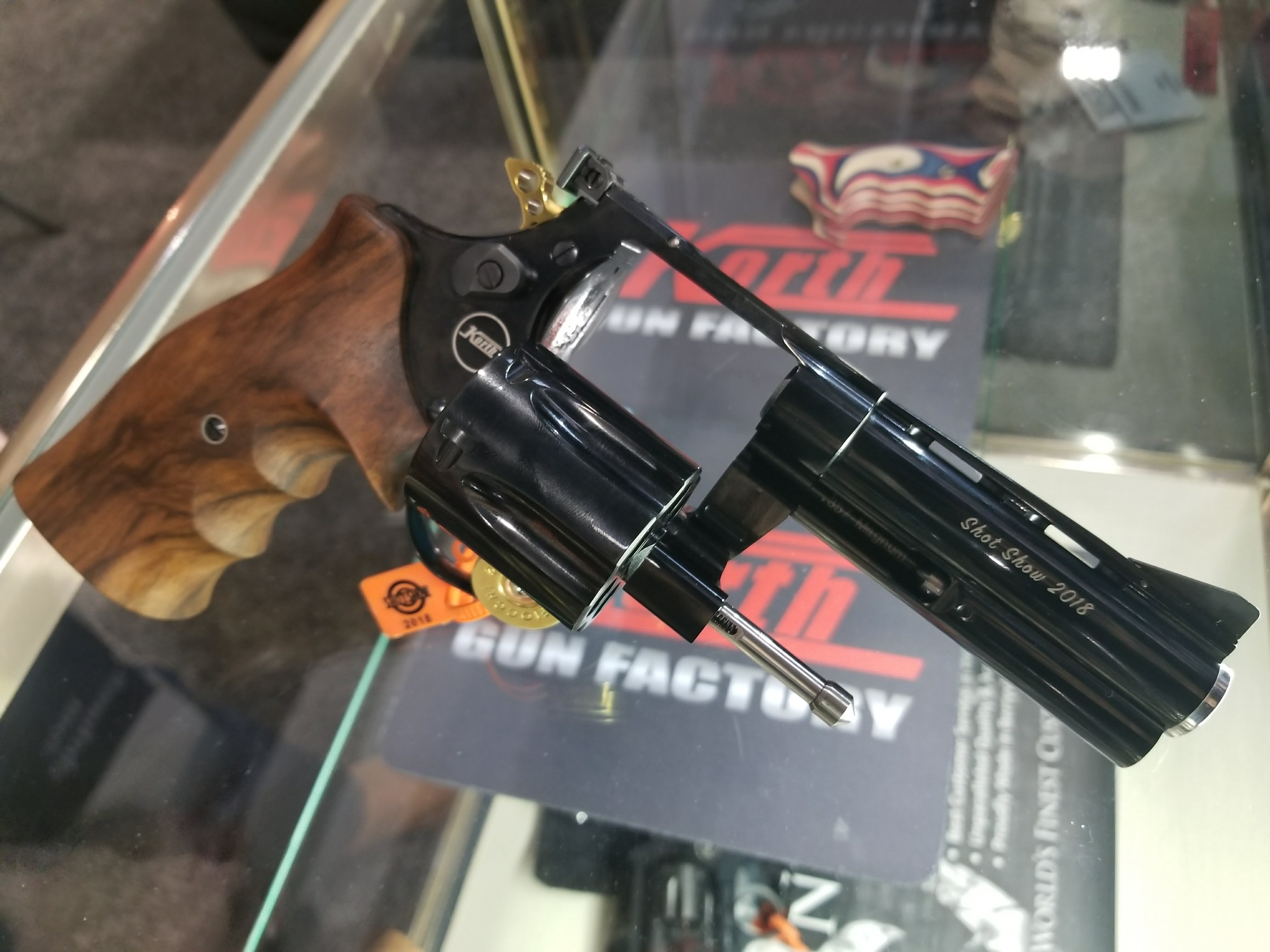 German John Woo: A Perfect Pair of Righty & Lefty Pistols from Korth