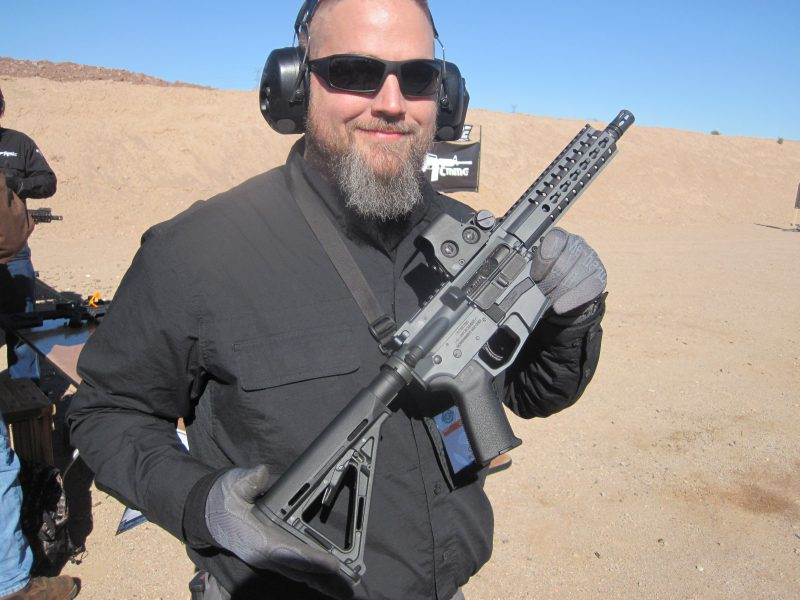 CMMG Guard 9mm at the 2018 SHOT Show Range Day
