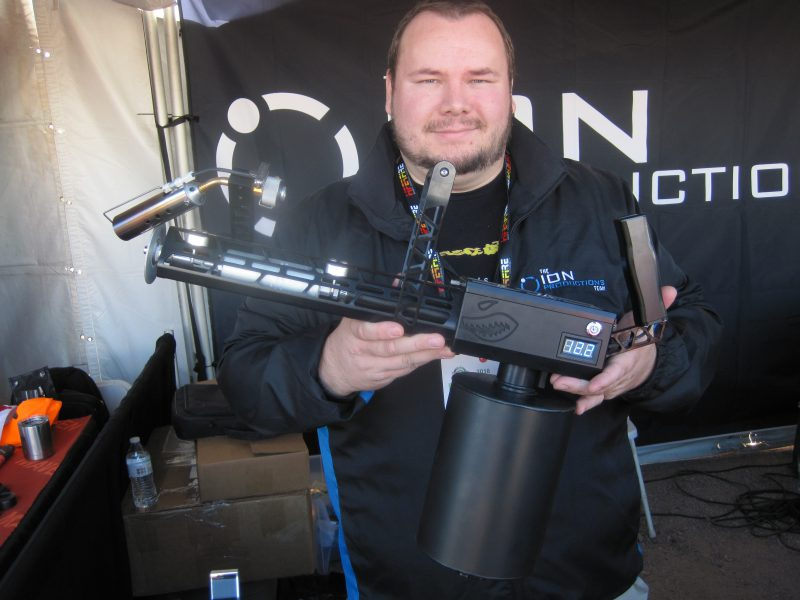 XM42M Flamethrower at the 2018 SHOT Show Range Day