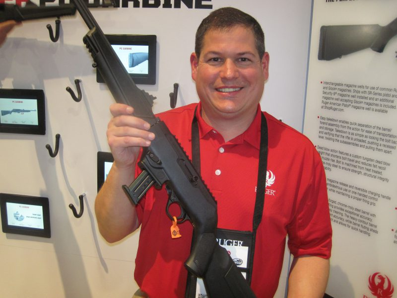 The Ruger PC Carbine at the 2018 SHOT Show