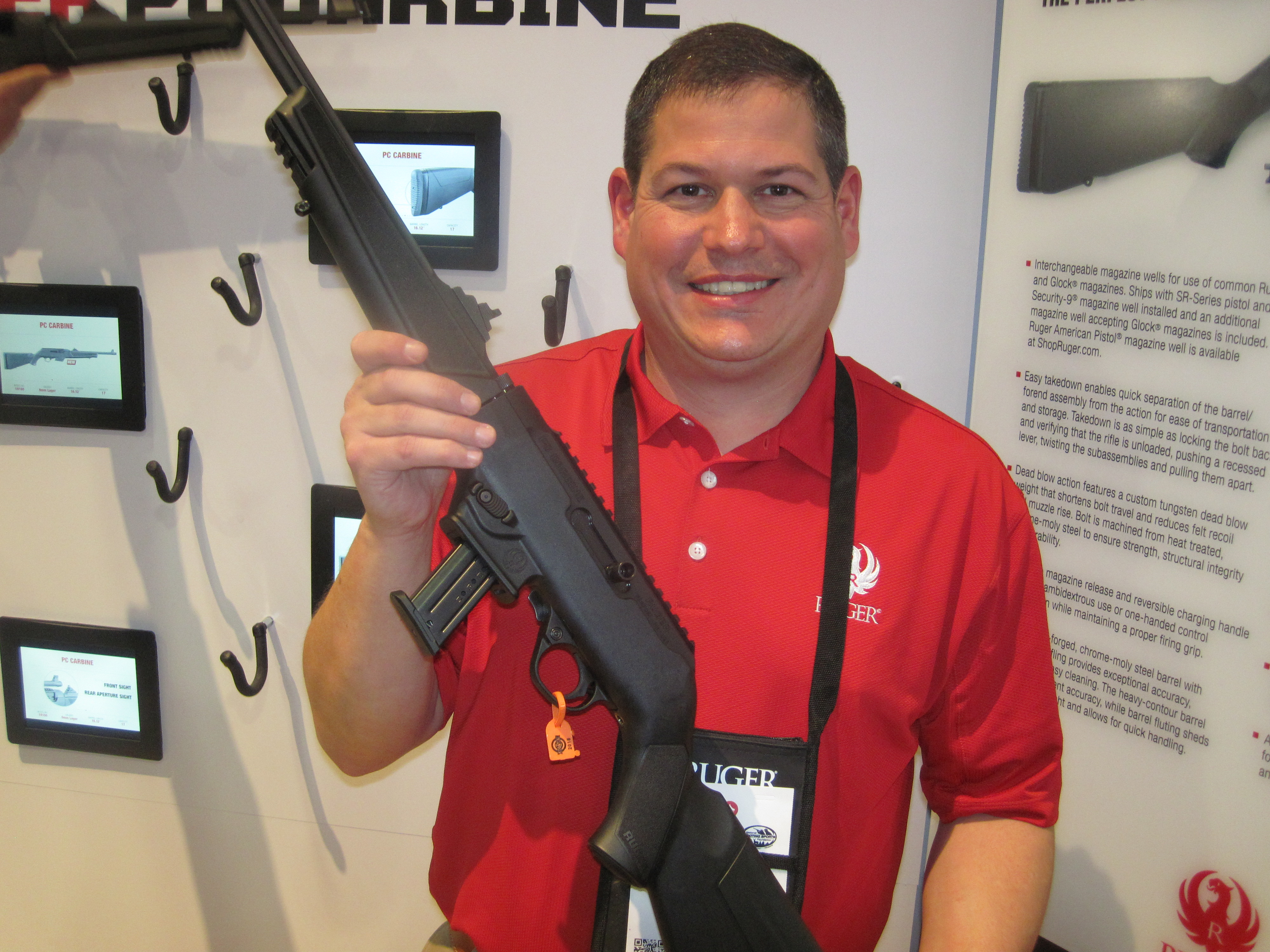 The Ruger PC Carbine at the 2018 SHOT Show - AllOutdoor com
