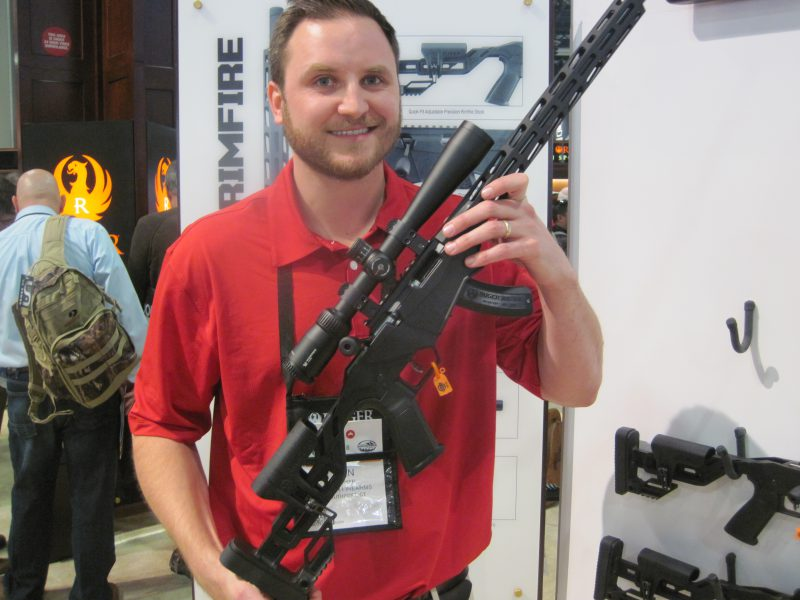 The Ruger Precision Rimfire at the 2018 SHOT Show