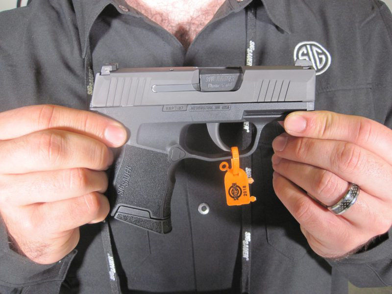 The Sig Sauer 365 Pistol at the 2018 SHOT Show