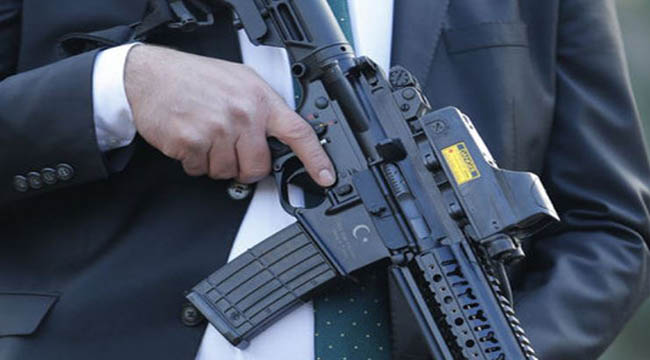 Turkey Presidential Guards deployed with MKEK MPT-55 5.56mm AR15 Rifles