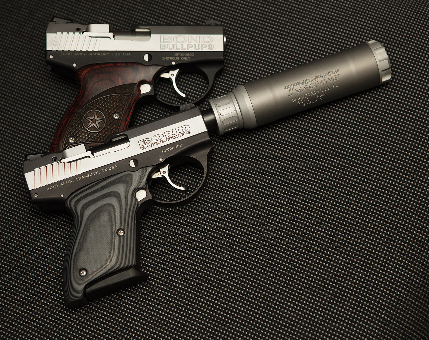 Bond Arms Bullpup Gets Suppressed