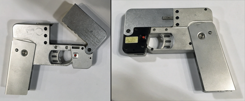 """Hands-On With the Foldable """"Cell Phone Pistol"""""""
