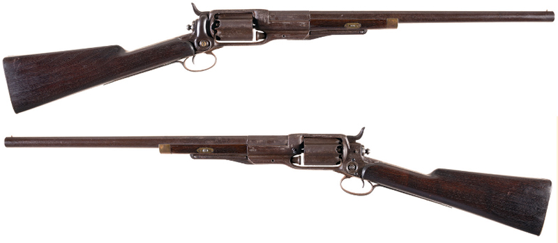 Watch: Colt 1855 10 Gauge Revolving Shotguns