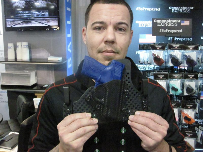 Concealment Express New Holster at the 2018 SHOT Show