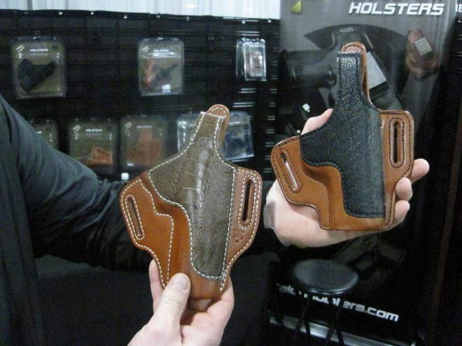 Exotic Custom Holsters From Talon Holsters at 2018 SHOT Show