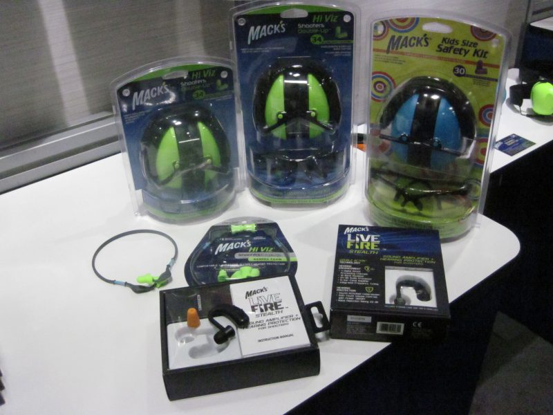 Mack's Hearing Protection New Products at the 2018 SHOT Show