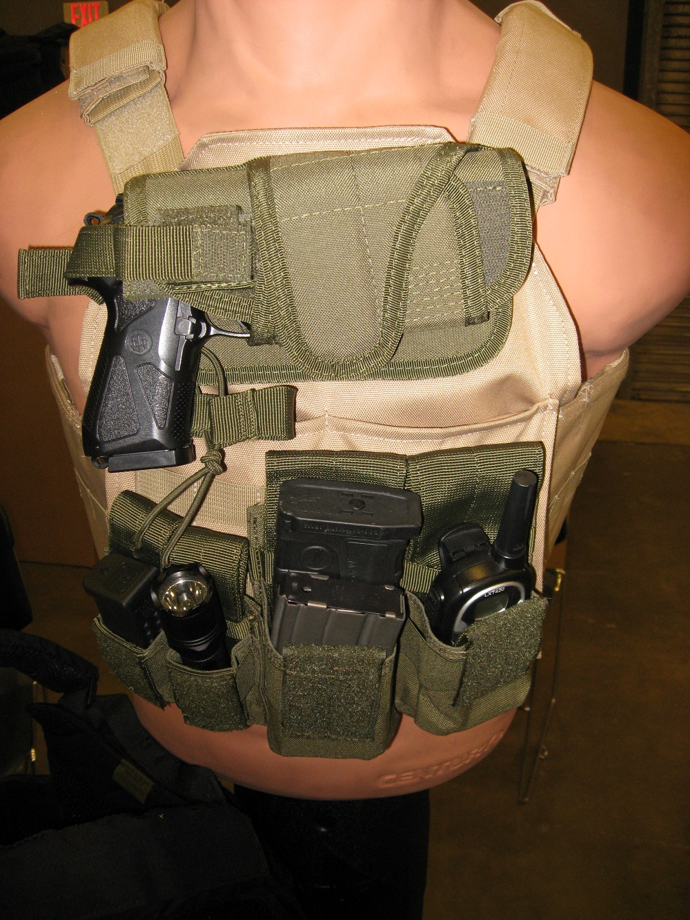 For a SHTF Gear Loadout, Consider a Front Load Vest