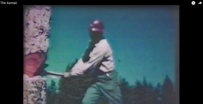 Watch: Vintage USFS Axe Training Video