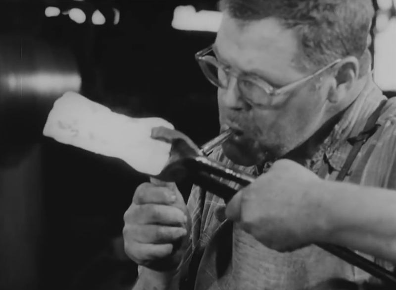 Watch: Making Axes in 1965's Oakland, Maine
