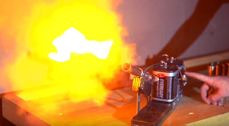Watch: How to Make a 'Desktop' Cannon