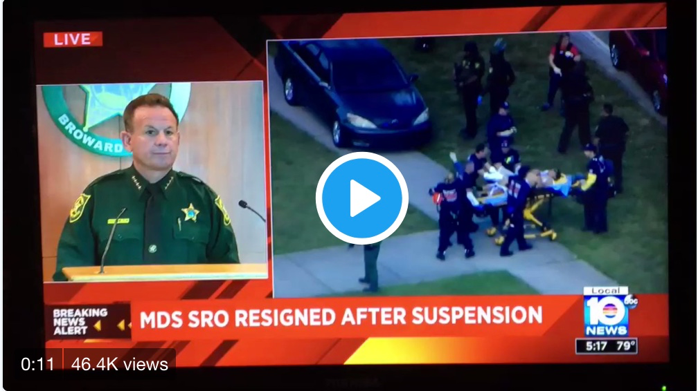 Florida Shooting: Armed School Resource Officer Cowered Outside In Fear