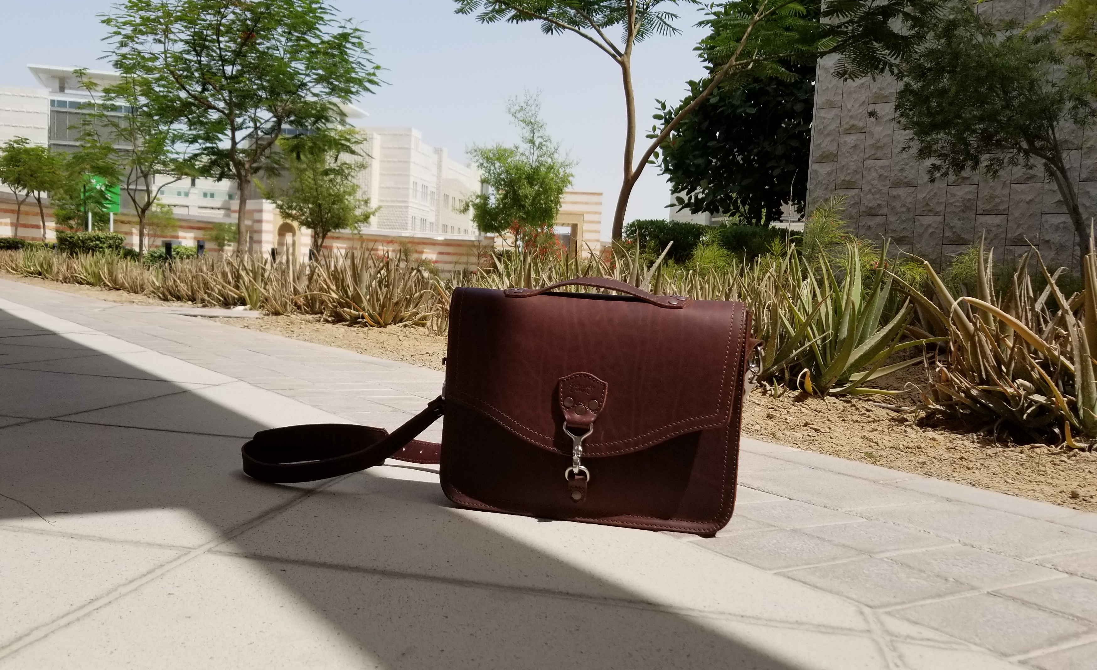 Saddleback leather laptop bag