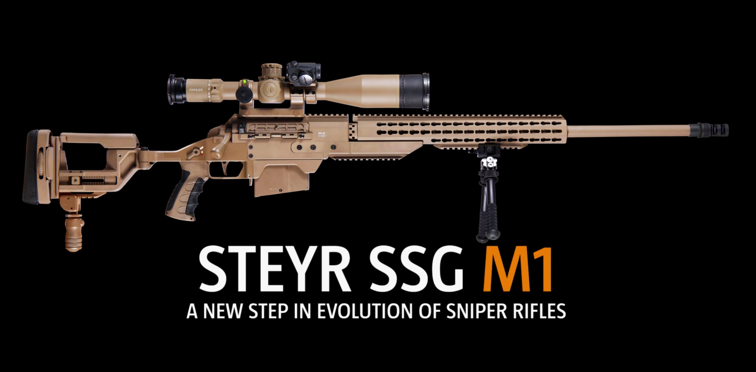 (Enforce Tac 2018) New Steyr Mannlicher SSG M1 Precision Rifle