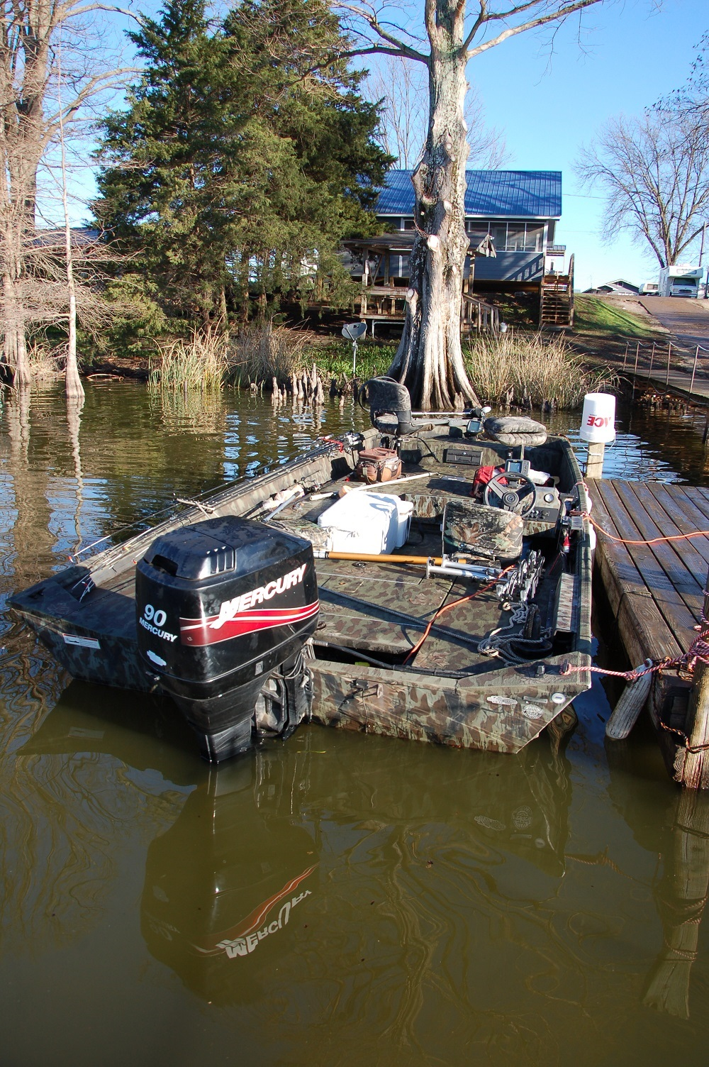 The Well Equipped Crappie Boat
