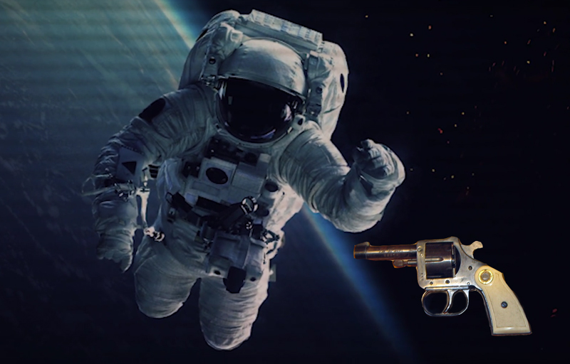 Watch: What Happens if You Fire a Gun in Space?