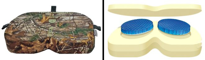 Hunt Comfort Scout hunting cushion.