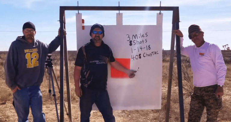 Texan Bill Poor's World-Record 3-Mile Shot