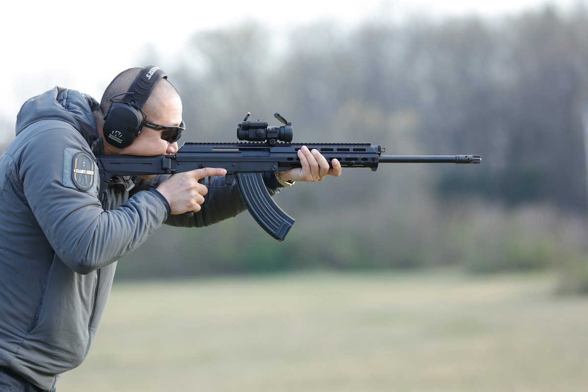 M+M M10X-DMR 7.62x39mm Rifle Being Tested