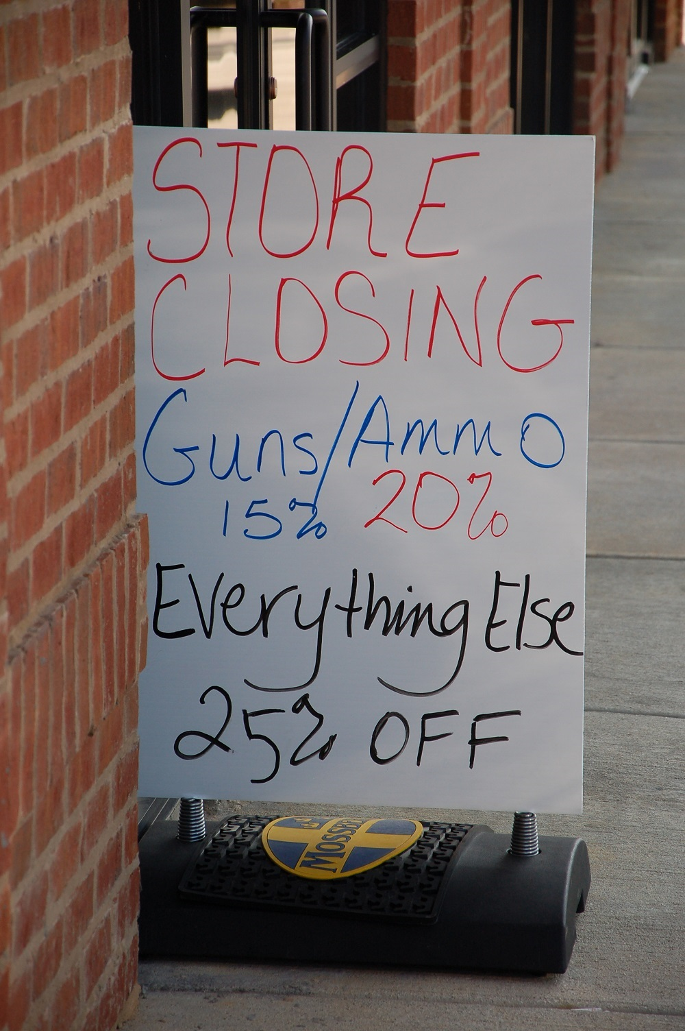Gun Shops Are Hurting