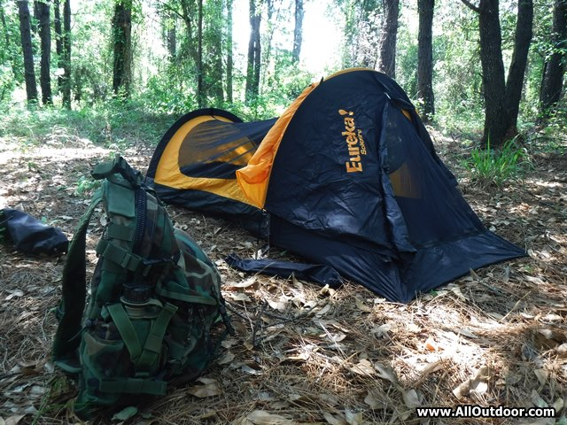 Eureka Solitaire one person tent