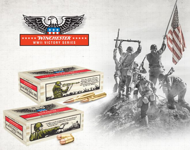 1321b3c2cfab Winchester pays honor to the U.S. warfighters and veterans of World War II  with its Victory Series ammunition, specially packaged in WWII collector's  ...