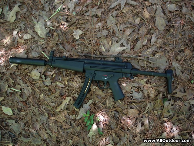 MP5 clone in 22 long rifle