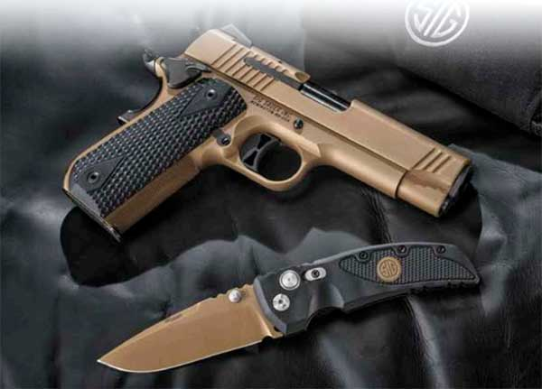 Release: Hogue Knives Announces Line of SIG SAUER Branded Knives