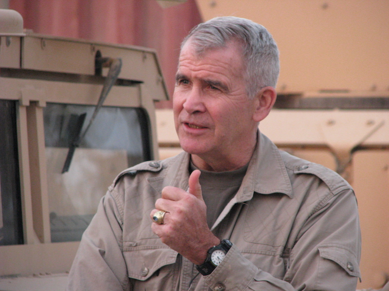 New NRA President Oliver North Supported the Assault Weapons Ban, Waco Raid