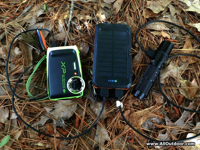 Keeping Electronics Charged While on the Trail