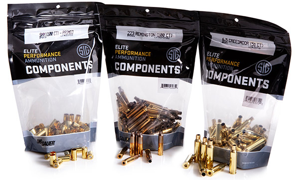 Sig Sauer Now Offering Brass Cartridge Cases for Reloading