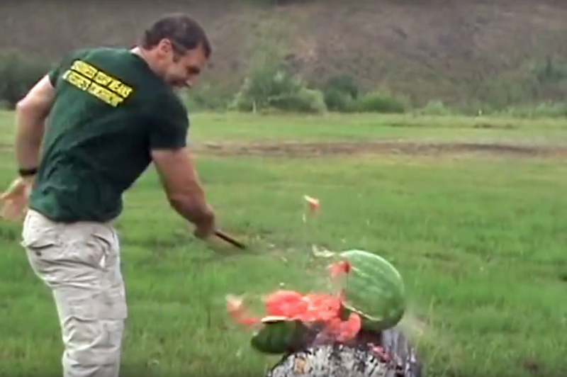 Watch: Tomahawks as Weapons