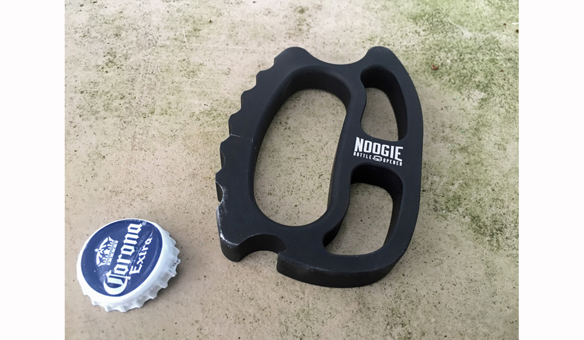 "Review: Noogie ""Brass Knuckles"" Tactical Bottle Opener"