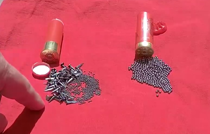 "Watch: 12 Gauge ""Ripper"" Carpet Tack Ammo"